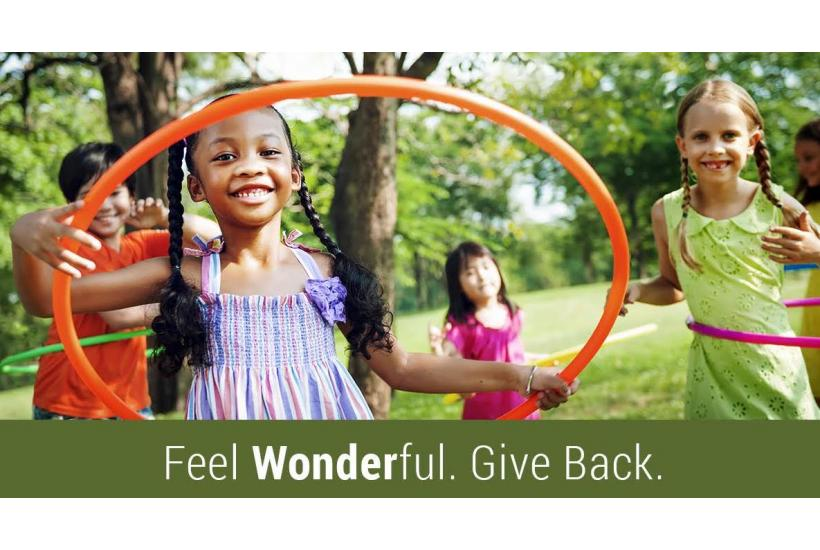 How to Feel WONDERful and Help Eliminate Hunger in America
