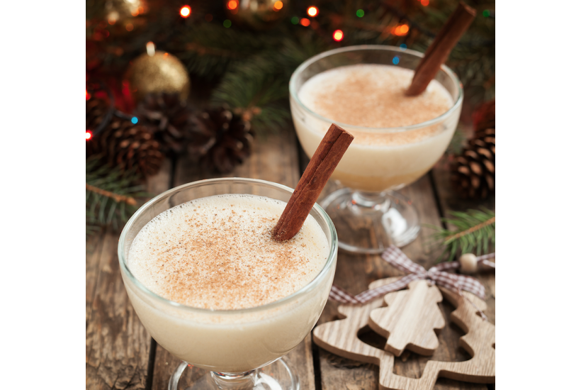 Healthy, High-Protein Eggnog Recipe from WonderSlim