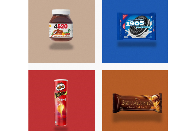 What Food Packaging Might Look Like if It Showed Total Calories