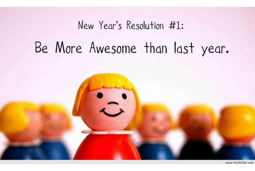 Resolve to Laugh in 2018 with New Year's Resolution Humor