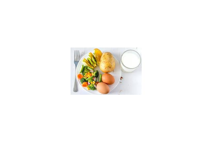 A Balanced, Portion-Controlled Eating Plan for Bariatrics