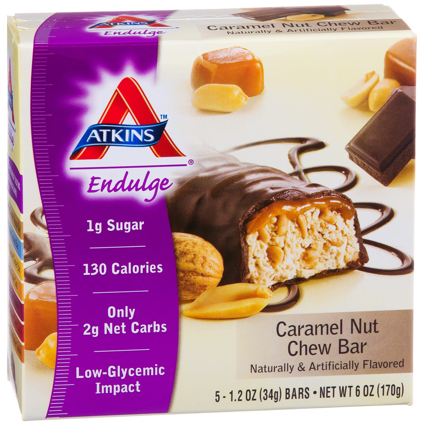 Atkins Endulge Bar - Caramel Nut Chew