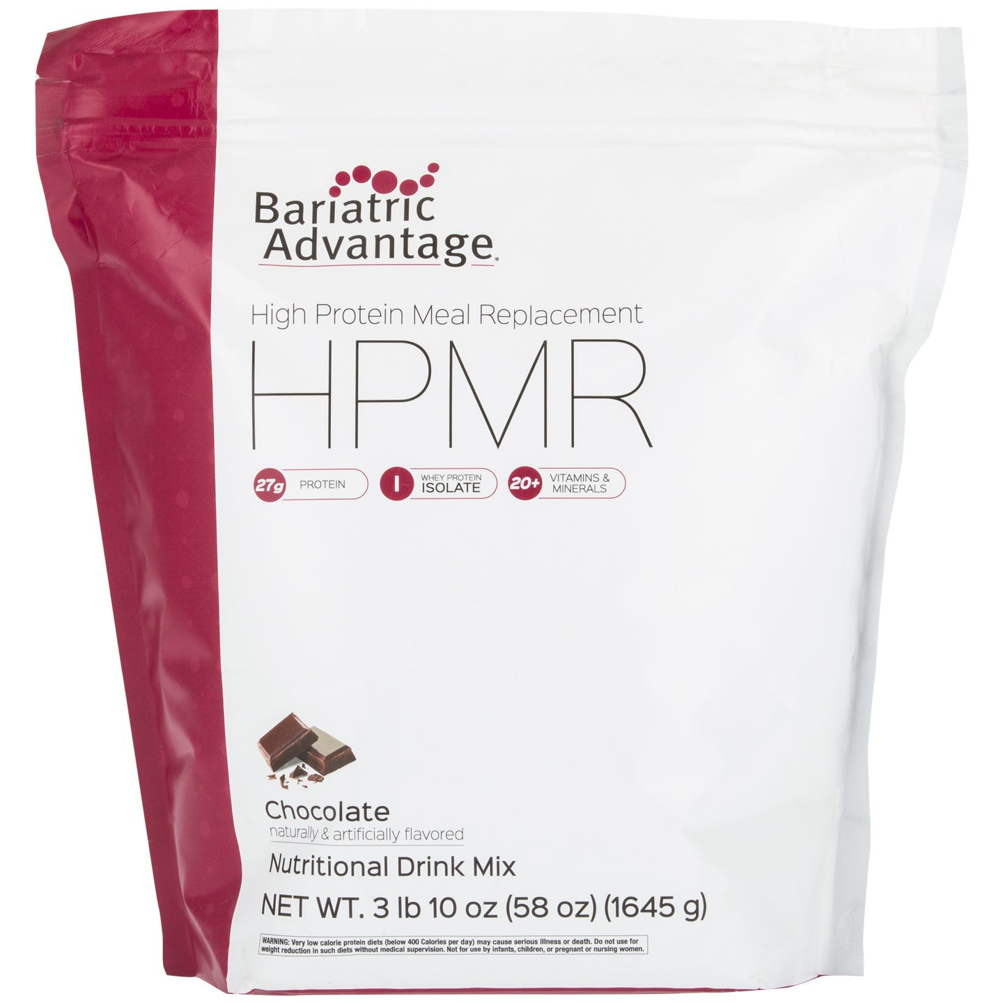 Bariatric Advantage High Protein Meal Replacement, Chocolate (57oz)