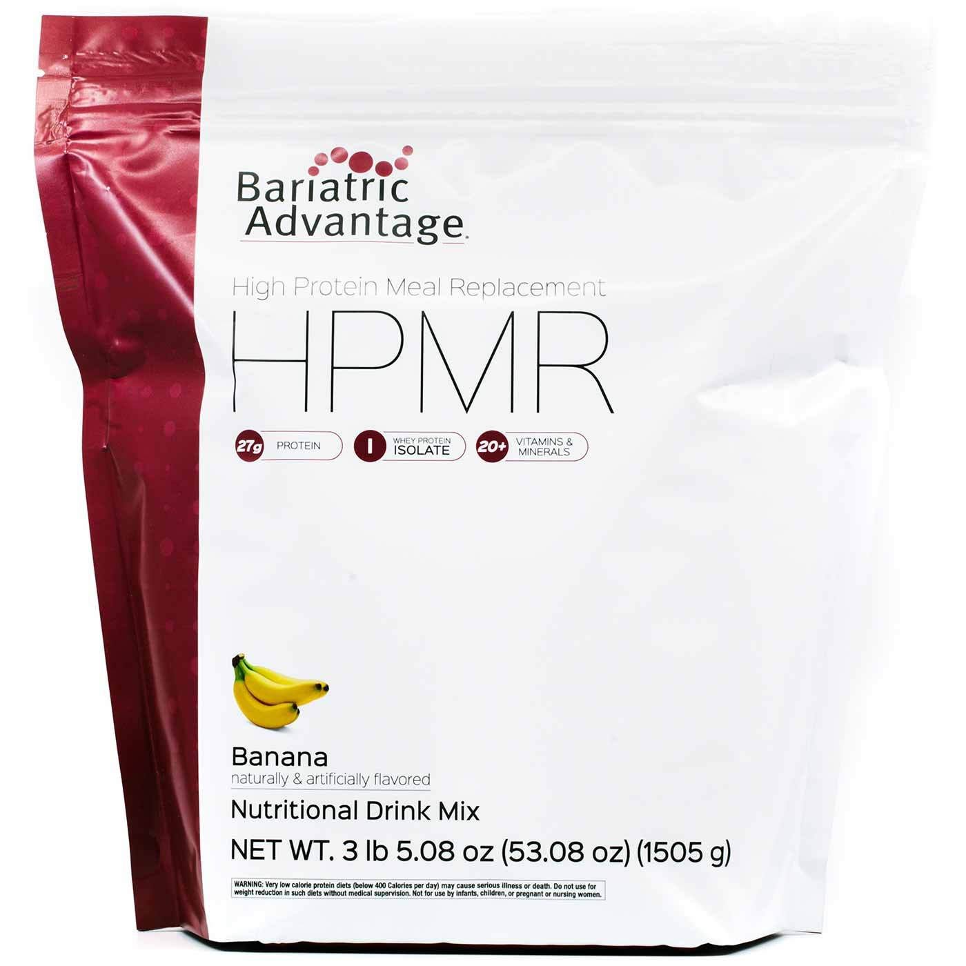 Bariatric Advantage High Protein Meal Replacement, Banana (53oz)