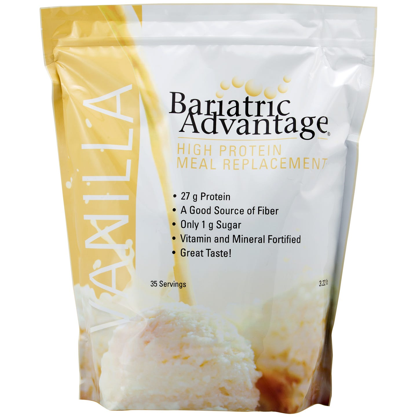 Bariatric Advantage Meal Replacement Shakes, 35 Servings - Vanilla