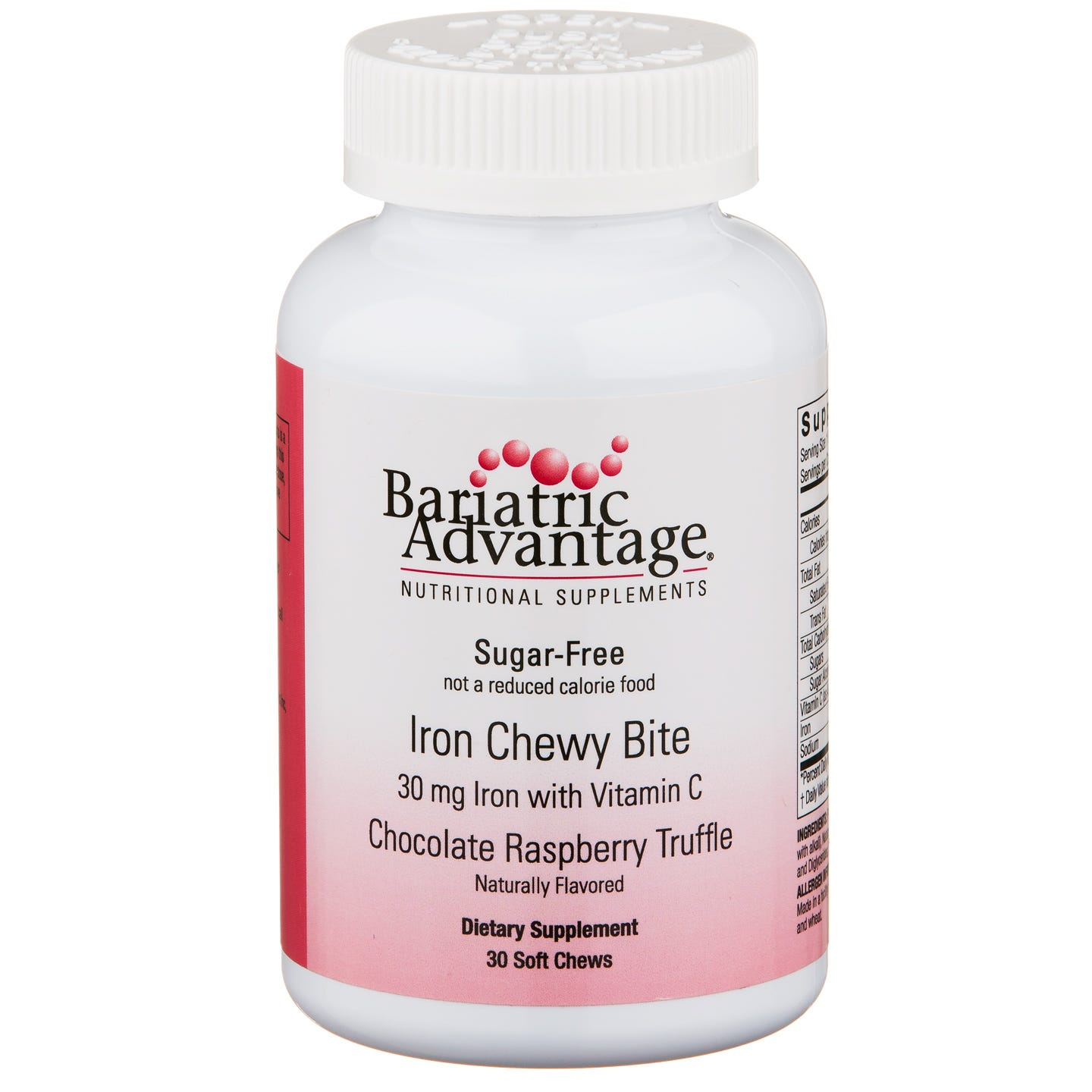 Iron Chewy Bites (30 ct) - Bariatric Advantage - Rapid Diet Weight Loss Products Shop