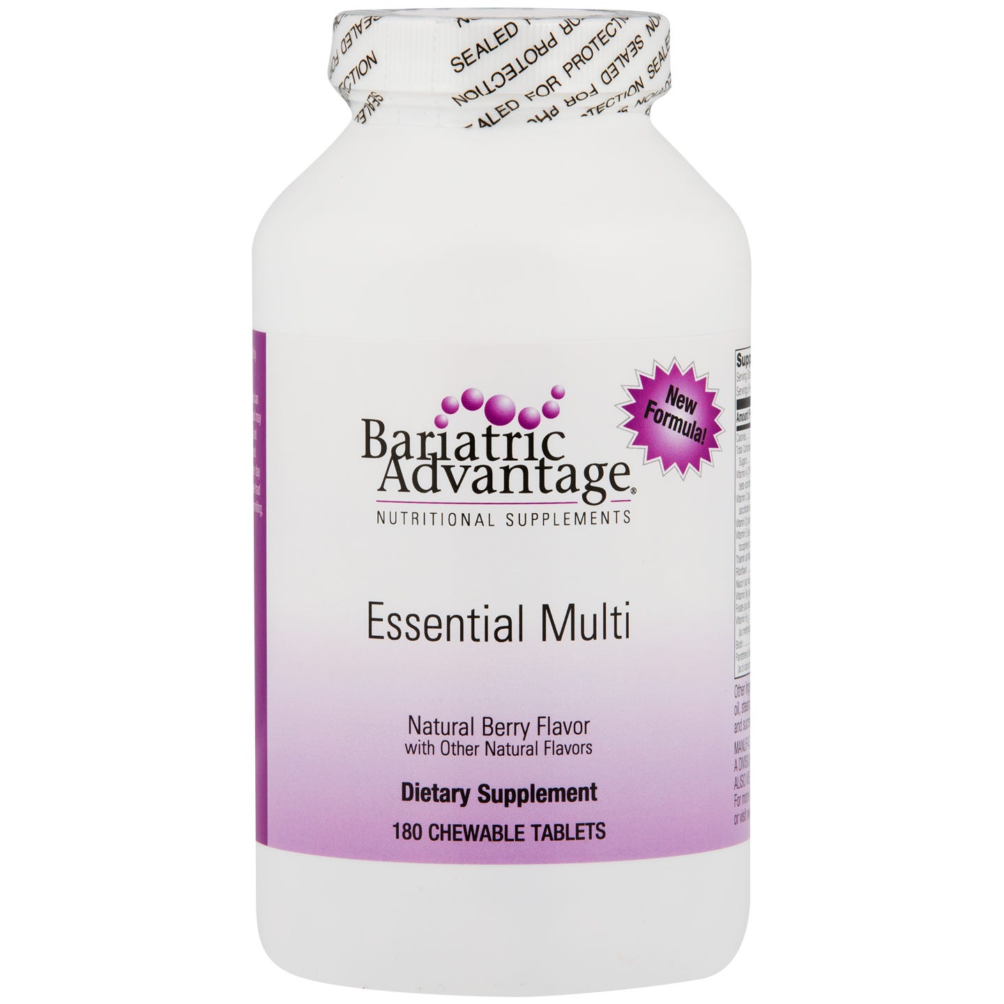 Essential Multi Chewable Berry (180 ct) - Bariatric Advantage - Rapid Diet Weight Loss Products Shop