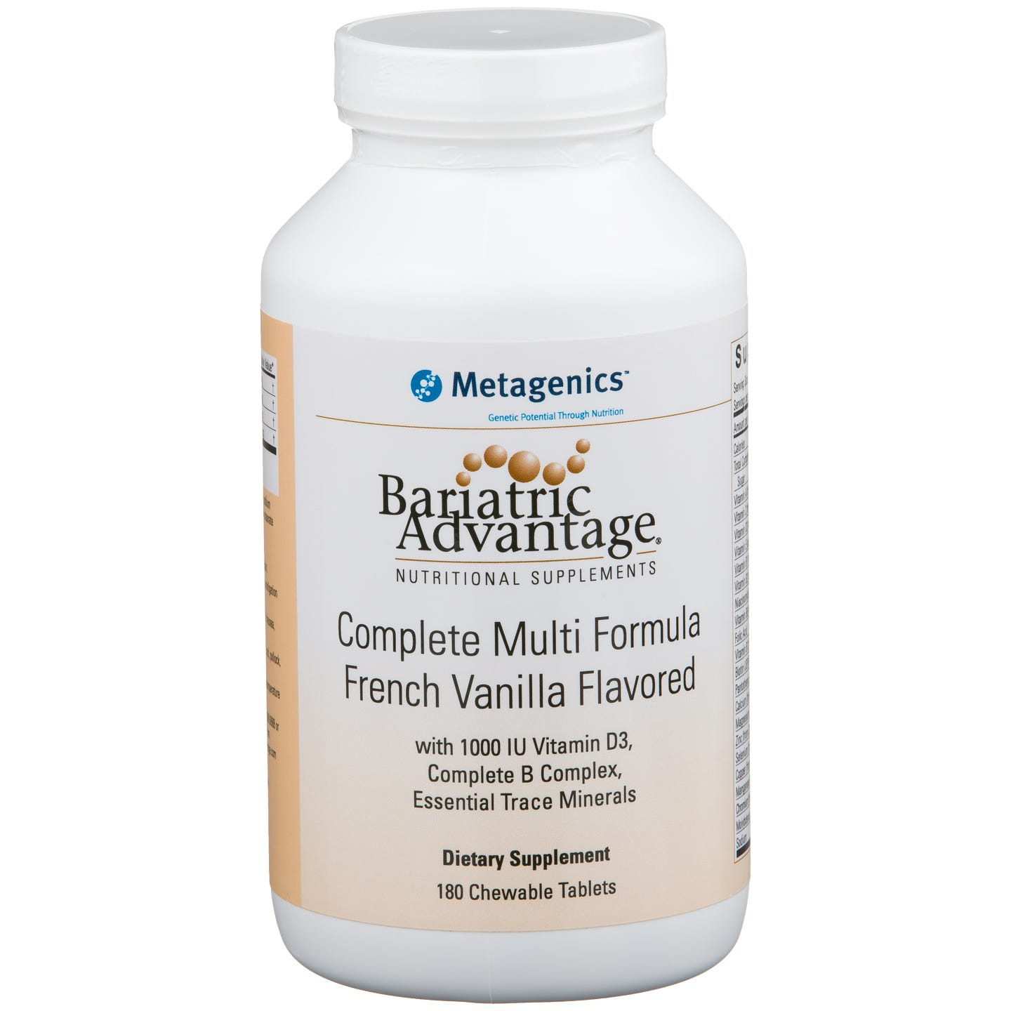 Bariatric Advantage Multi-Formula Chewable - French Vanilla