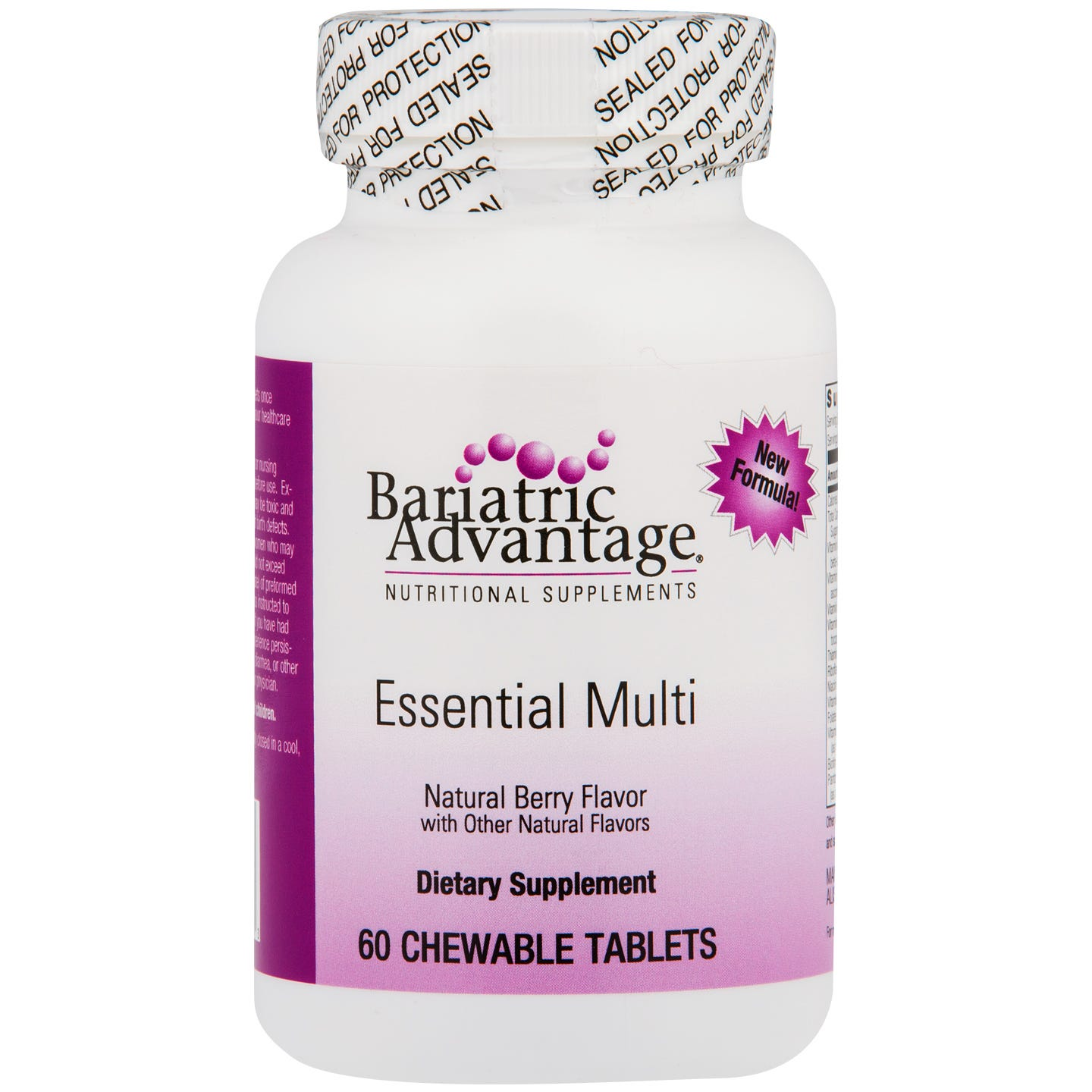 Essential Multi Chewable Berry (60 ct) - Bariatric Advantage - Rapid Diet Weight Loss Products Shop