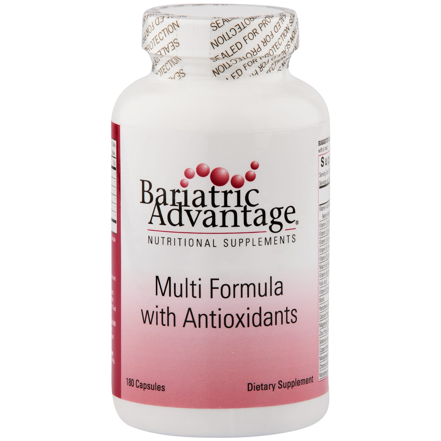 Multi-Formula (180 ct) - Bariatric Advantage - Rapid Diet Weight Loss Products Shop