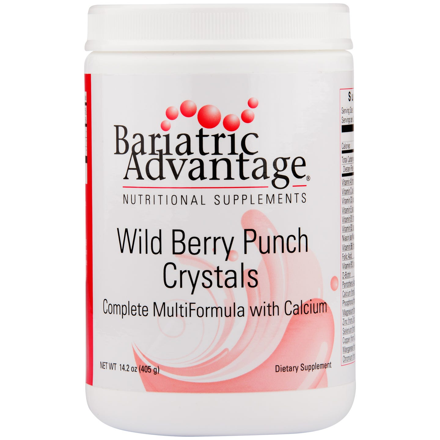 Multi Formula Crystal Wild Berry Punch 14.2 oz - Bariatric Advantage - Rapid Diet Weight Loss Products Shop
