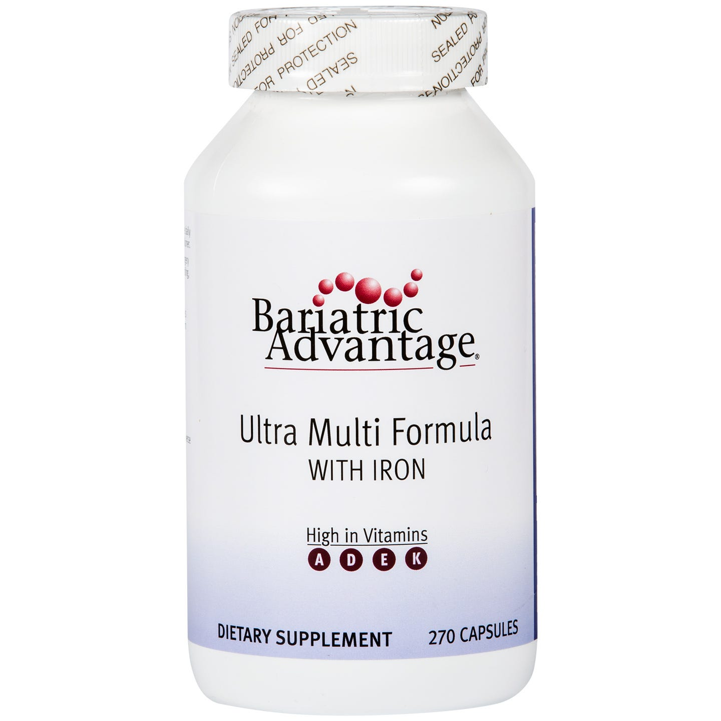 Ultra Multi with Iron (270 ct) - Bariatric Advantage - Rapid Diet Weight Loss Products Shop
