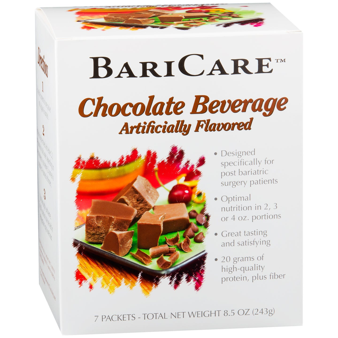 BariCare Post Bariatric Surgery Nutrition Supplements - Chocolate