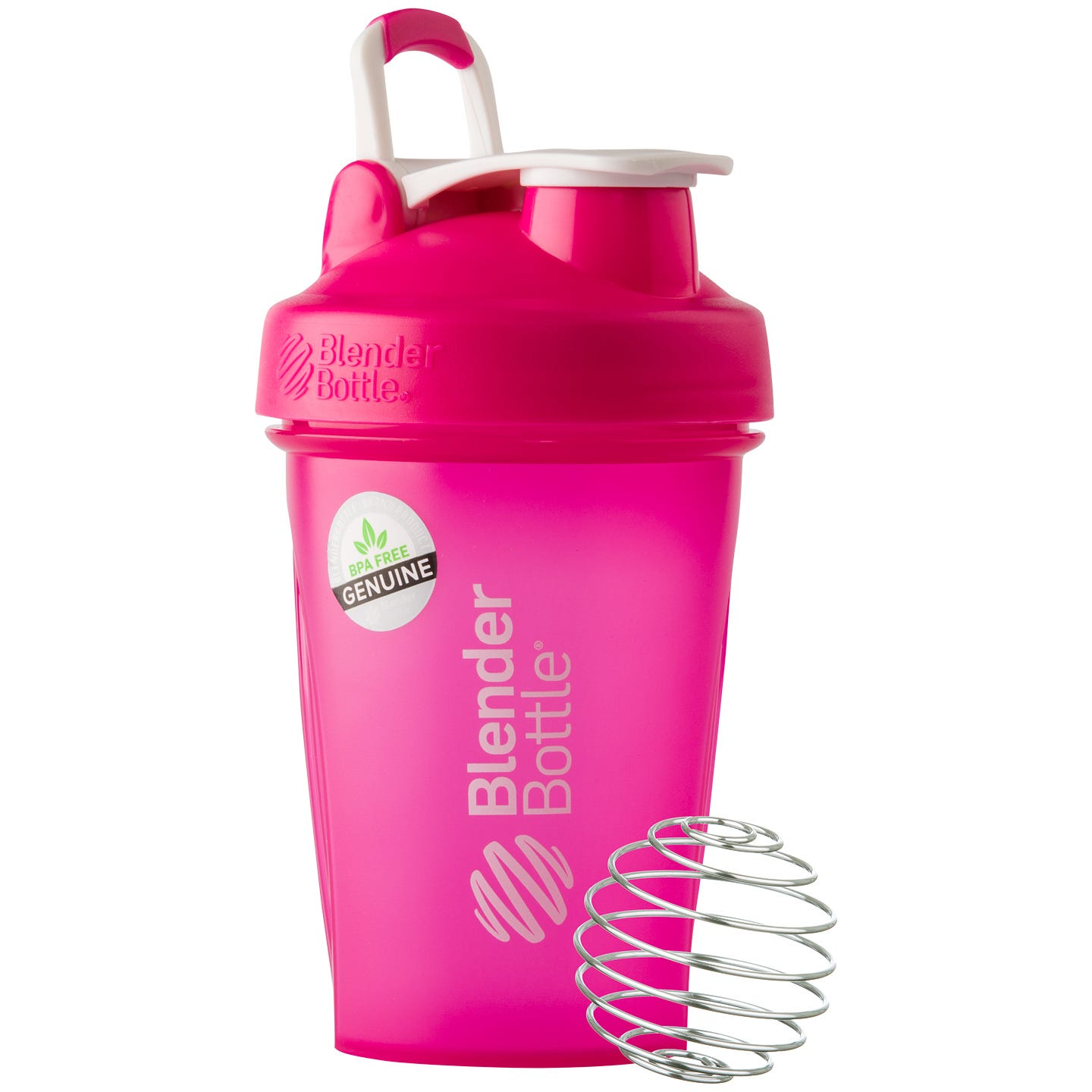 Classic™ Full Color with Loop Pink 20 oz, BlenderBottle® - Rapid Diet Weight Loss Products Shop