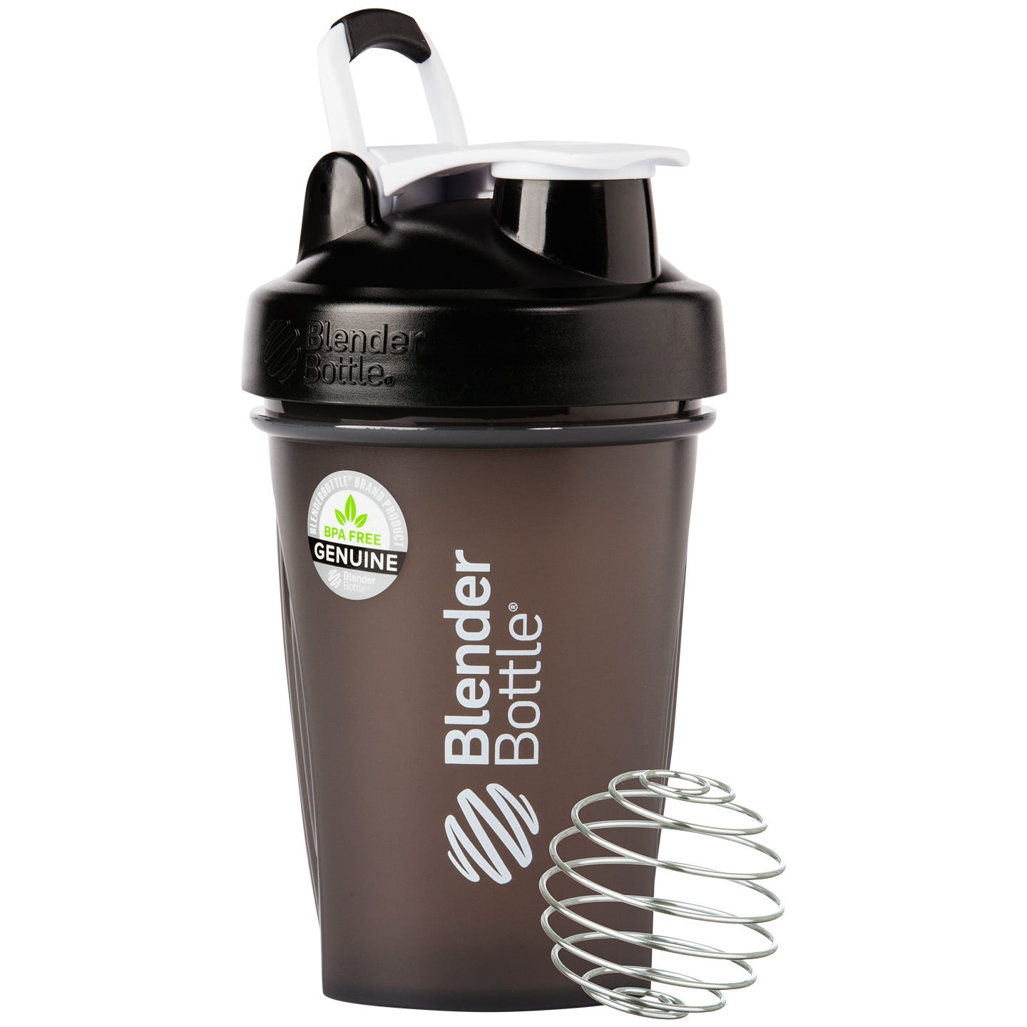 Classic™ Full Color with Loop Black 20 oz, BlenderBottle® - Rapid Diet Weight Loss Products Shop