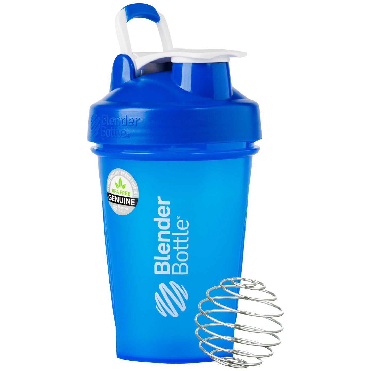 Classic™ Full Color with Loop Blue 20 oz, BlenderBottle® - Rapid Diet Weight Loss Products Shop