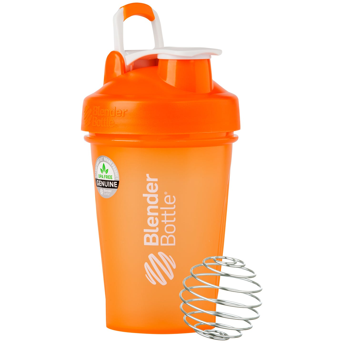 Classic™ Full Color with Loop Orange 20 oz, BlenderBottle® - Rapid Diet Weight Loss Products Shop