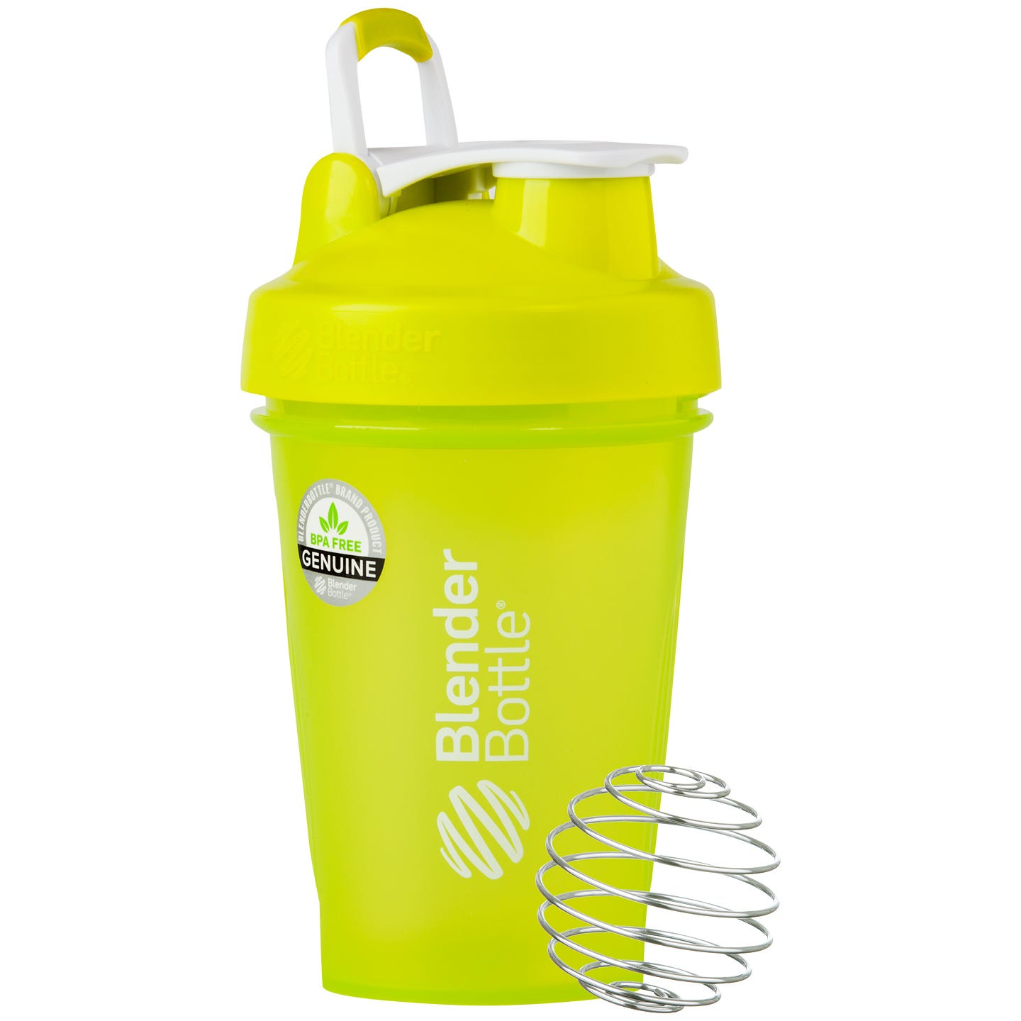 Classic™ Full Color with Loop Green 20 oz, BlenderBottle® - Rapid Diet Weight Loss Products Shop