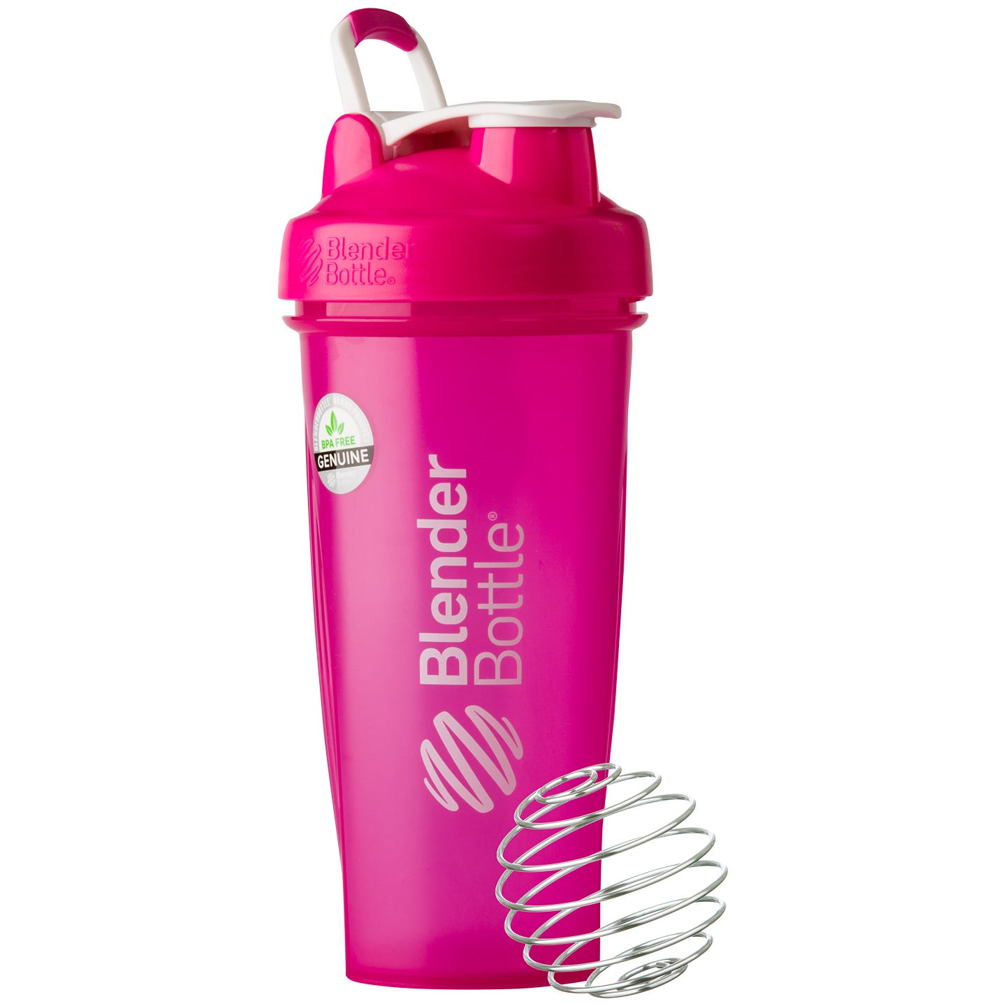 Classic™ Full Color with Loop Pink 28 oz, BlenderBottle® - Rapid Diet Weight Loss Products Shop