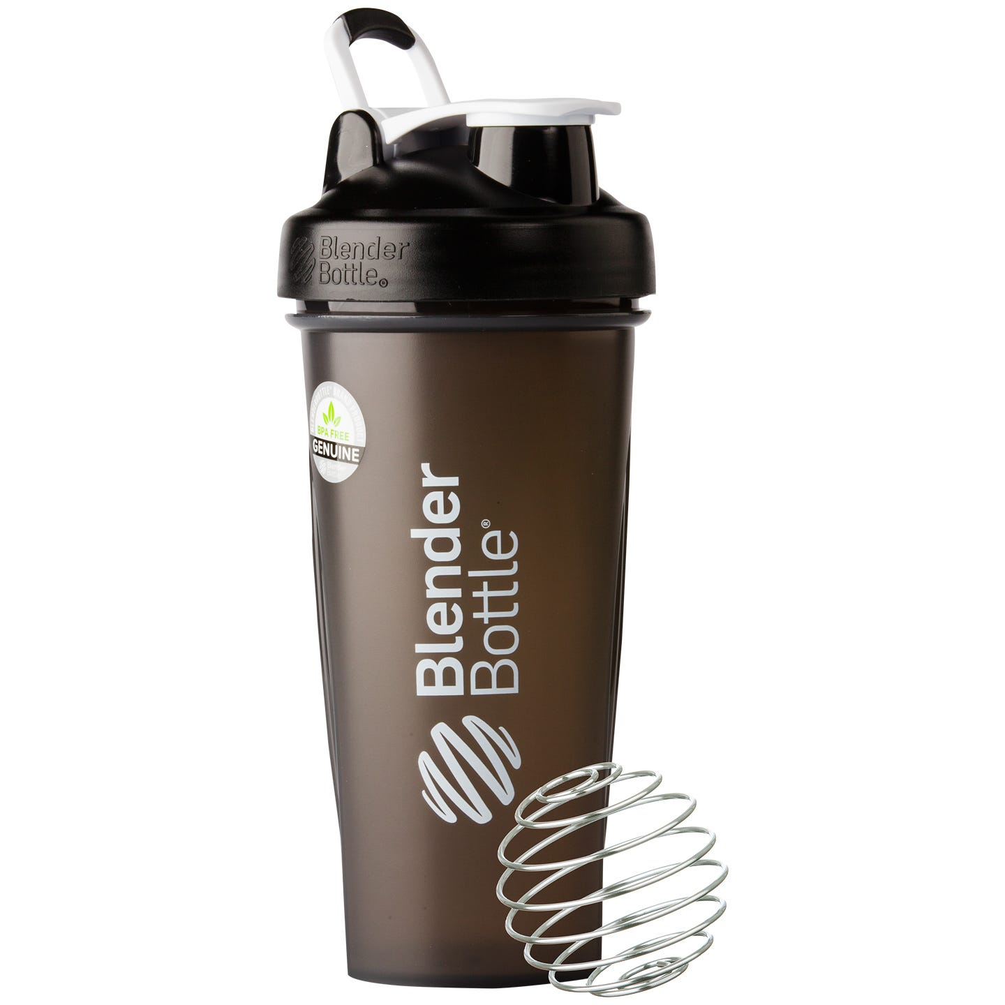 Classic™ Full Color with Loop Black 28 oz, BlenderBottle® - Rapid Diet Weight Loss Products Shop