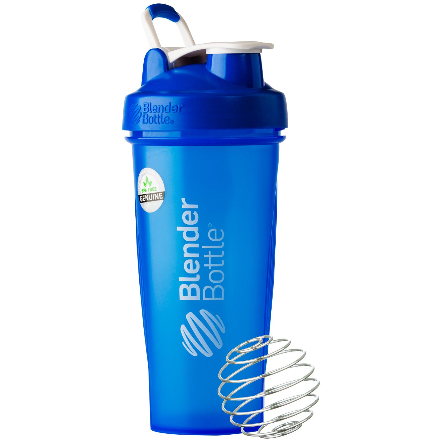 Classic™ Full Color with Loop Blue 28 oz, BlenderBottle® - Rapid Diet Weight Loss Products Shop