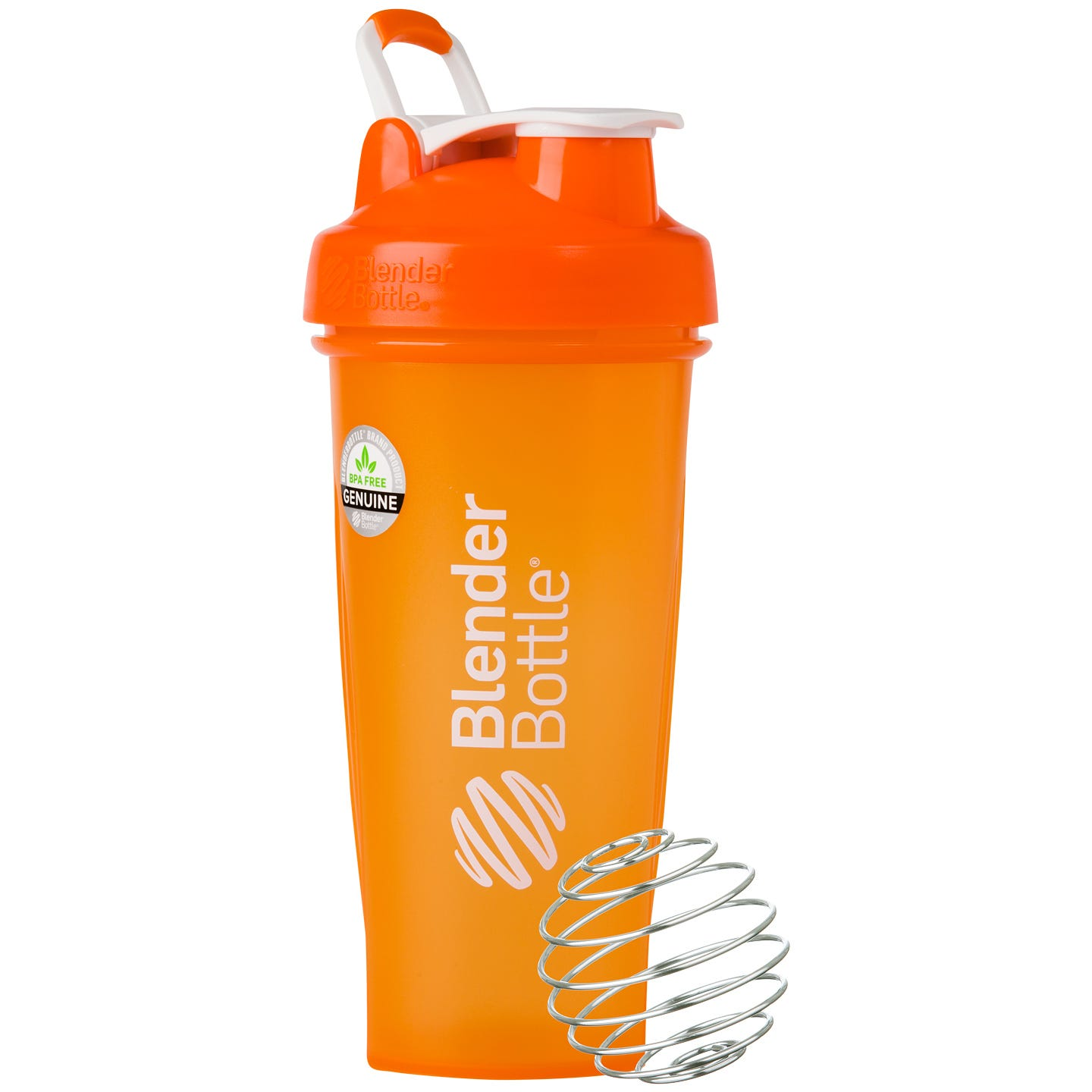 Classic™ Full Color with Loop Orange 28 oz, BlenderBottle® - Rapid Diet Weight Loss Products Shop