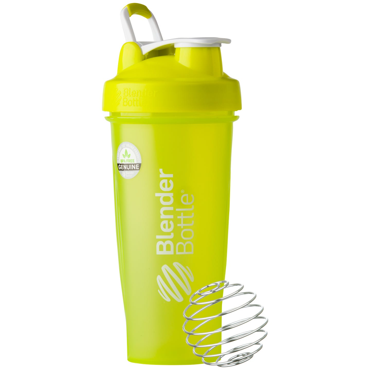 Classic™ Full Color with Loop Green 28 oz, BlenderBottle® - Rapid Diet Weight Loss Products Shop