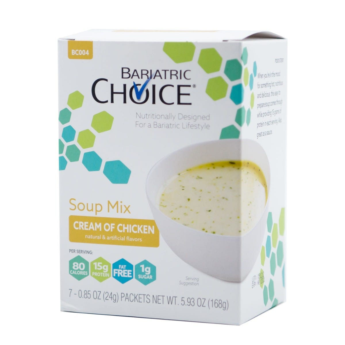 Bariatric Choice Soup, Cream of Chicken (7ct)