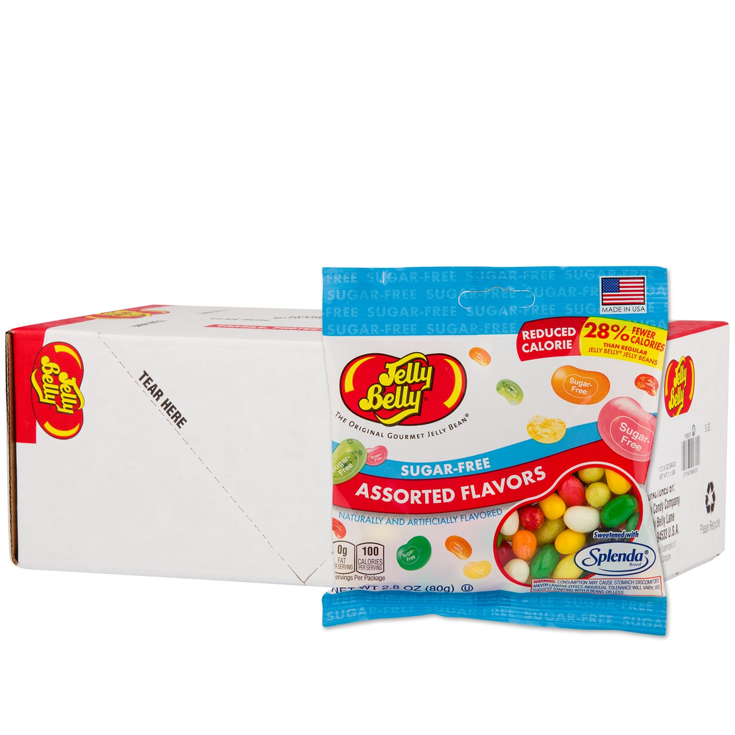 Sugar-Free Jelly Beans (12 ct) - Jelly Belly - Rapid Diet Weight Loss Products Shop