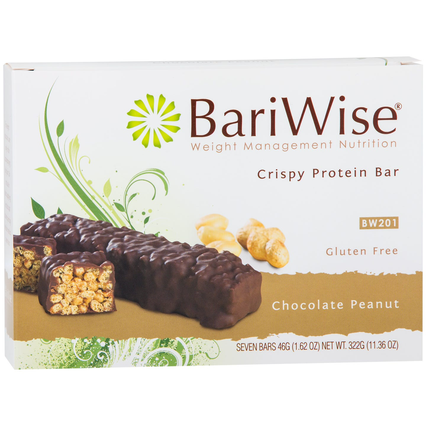 BariWise Protein Bar, Chocolate Peanut (7ct)