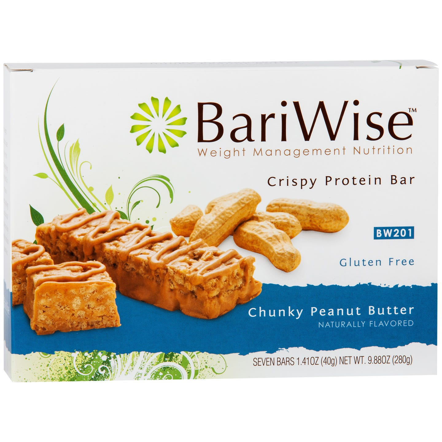 Crispy Protein Bar Chunky Peanut Butter (7 ct) – BariWise