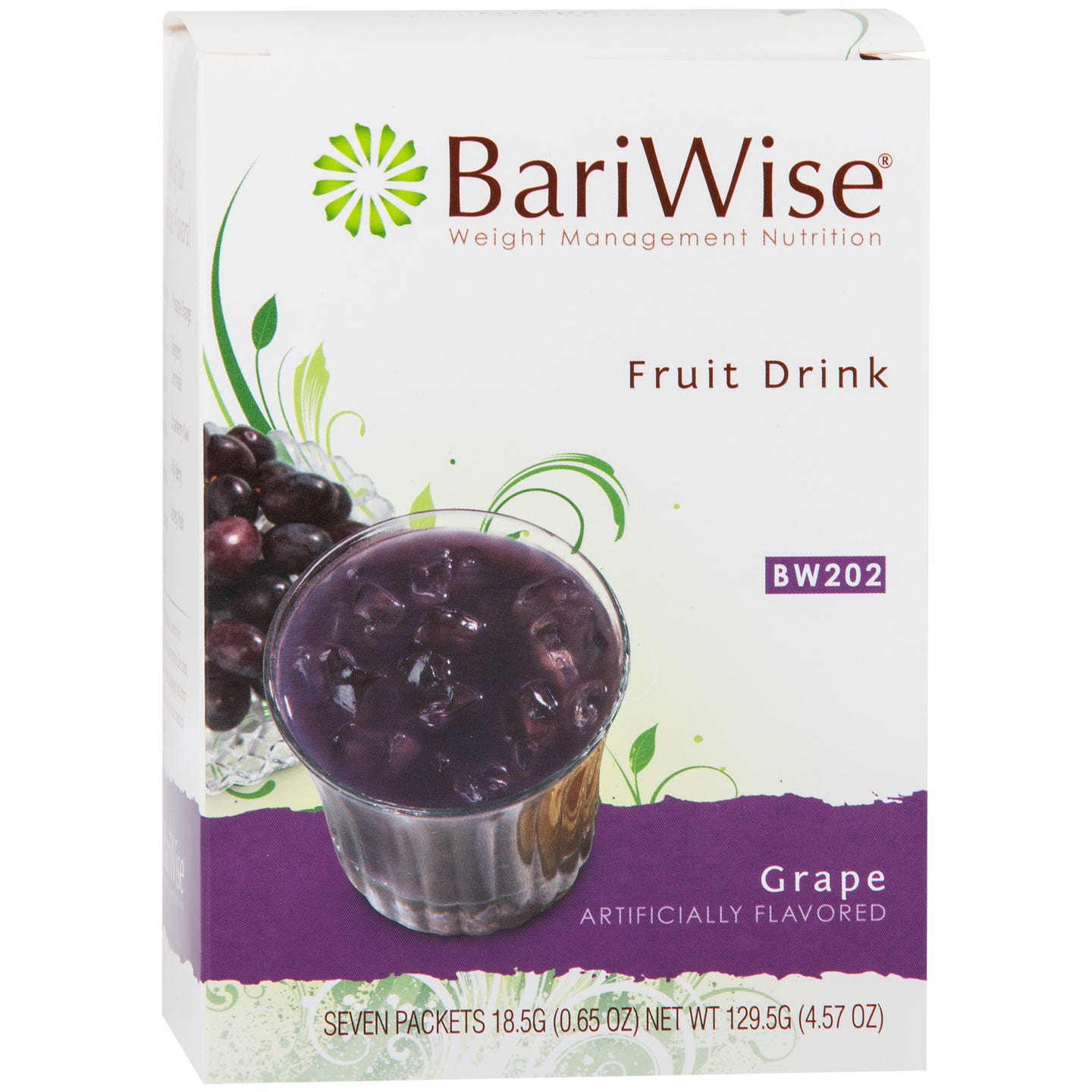 Protein Diet Fruit Drink Grape (7 Ct) - BariWise