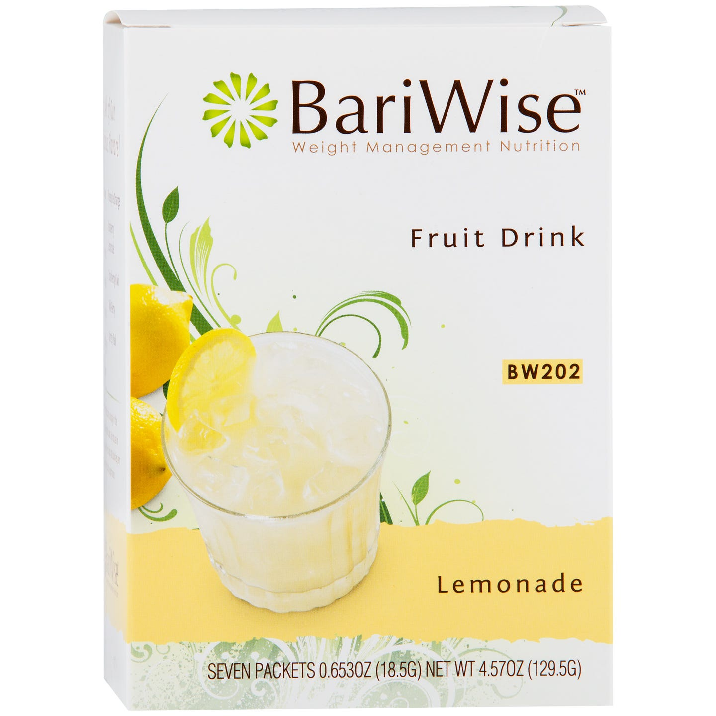 Protein Diet Fruit Drink Lemonade (7 ct) - BariWise - Rapid Diet Weight Loss Products Shop