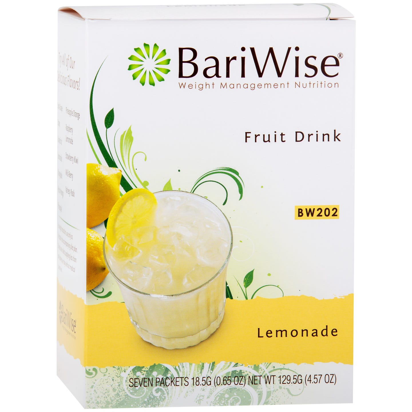 Protein Diet Fruit Drink Lemonade (7 Ct) - BariWise