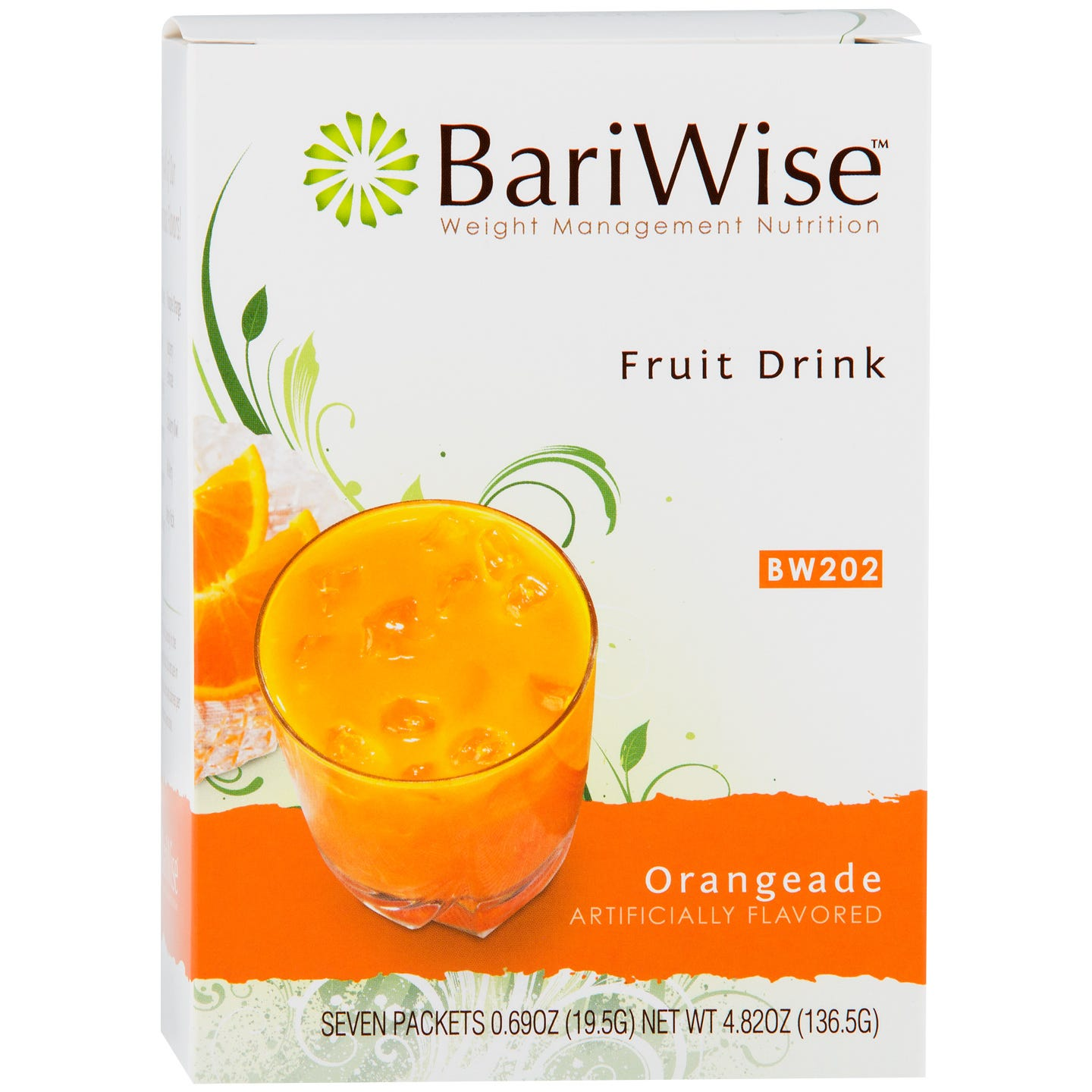 Protein Diet Fruit Drink Orangeade (7 ct) - BariWise - Rapid Diet Weight Loss Products Shop