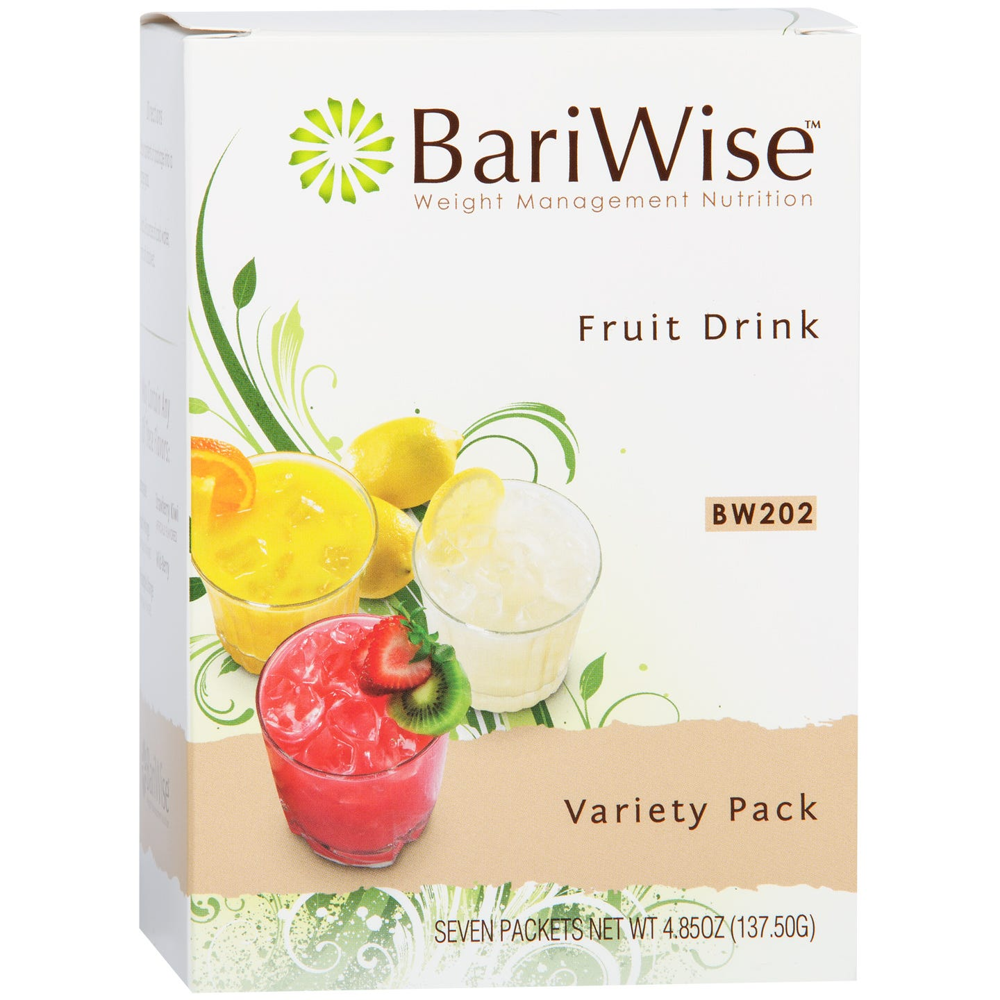 Protein Diet Fruit Drink Variety Pack (7 ct) - BariWise - Rapid Diet Weight Loss Products Shop