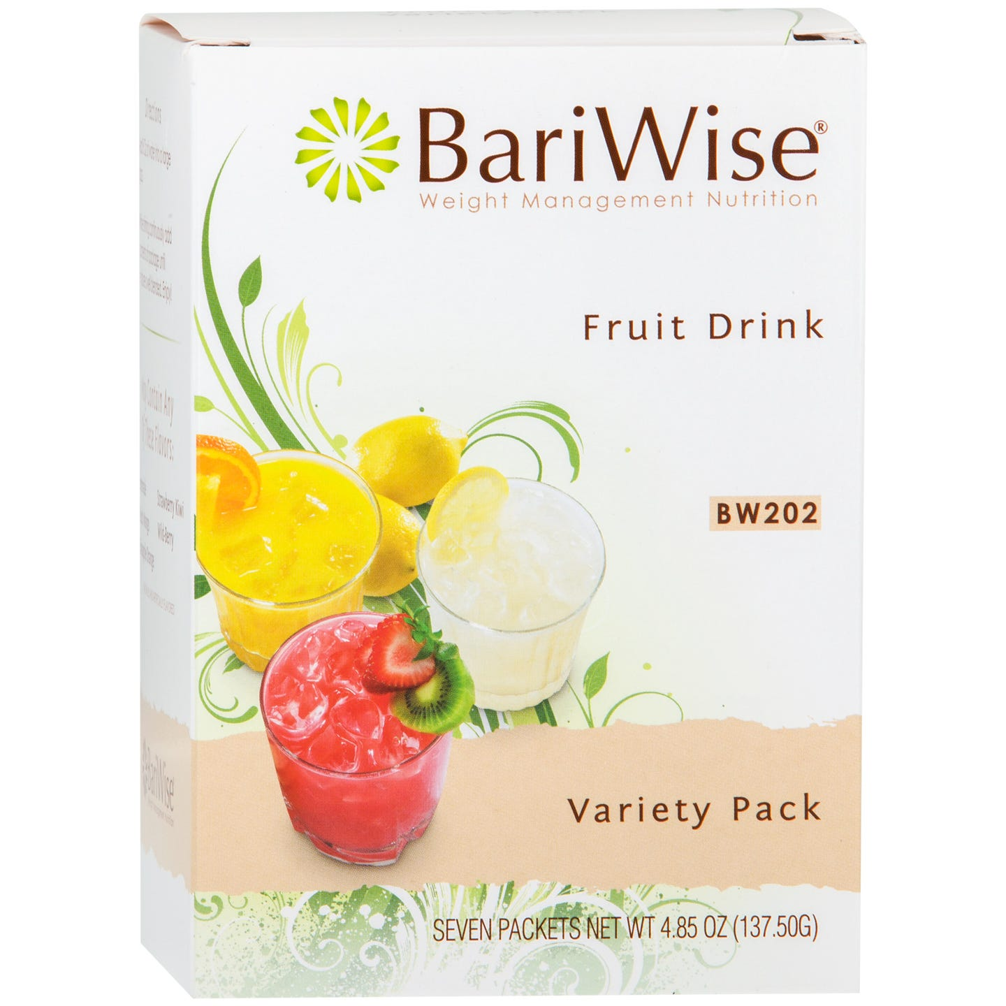 Protein Diet Fruit Drink Variety Pack (7 Ct) - BariWise