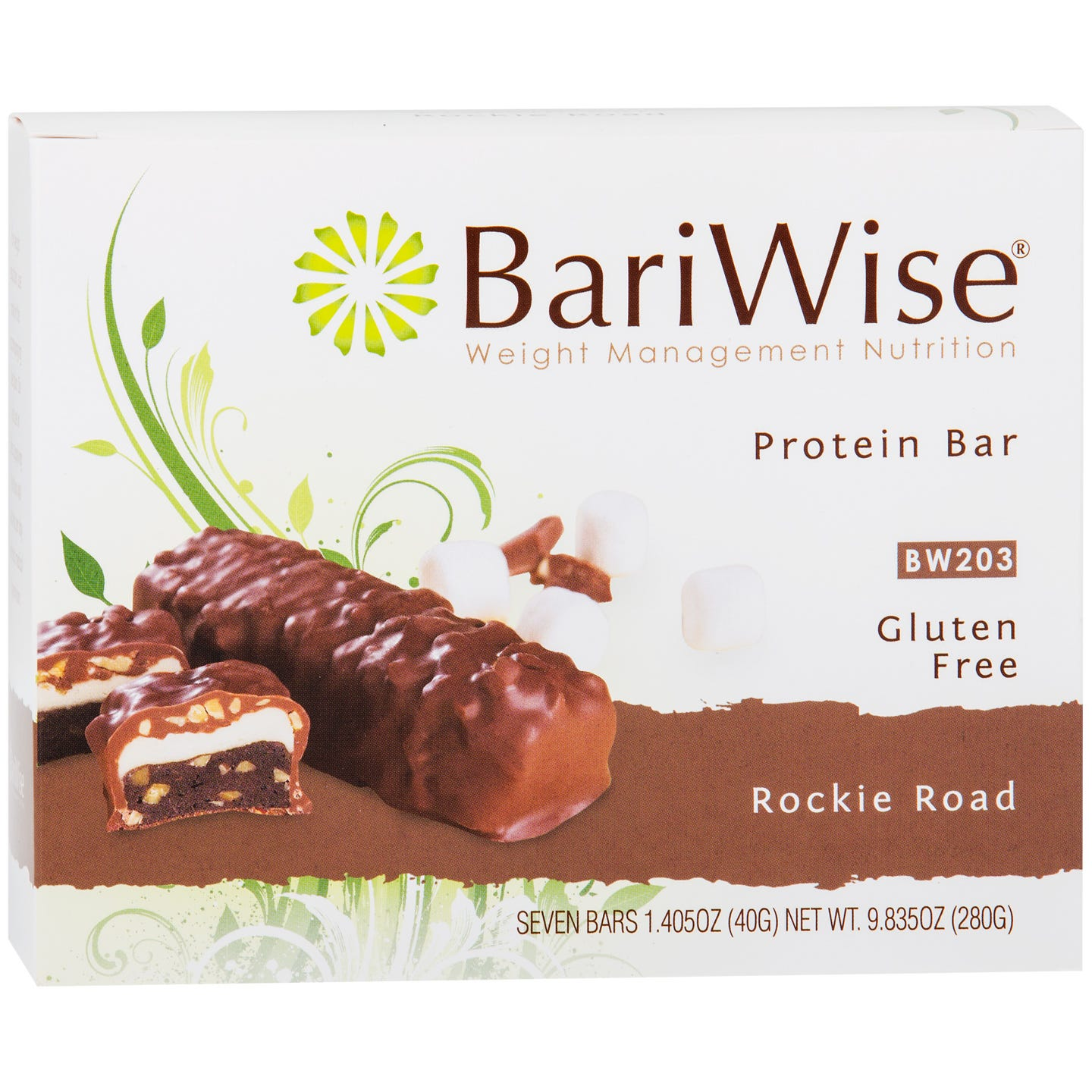Protein Diet Bar Rockie Road (7 Ct) - BariWise