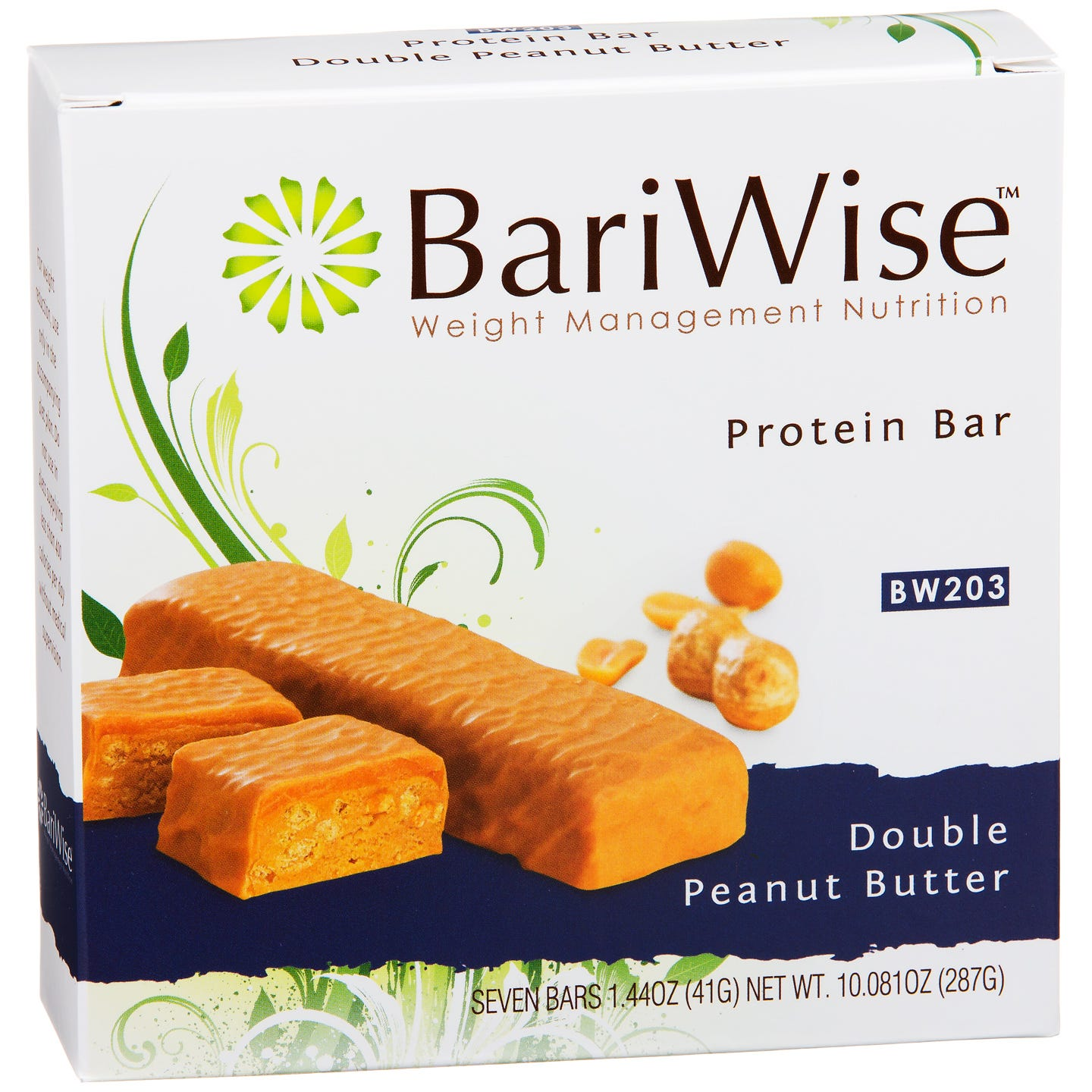 BariWise Protein Diet Bars - Double Peanut Butter