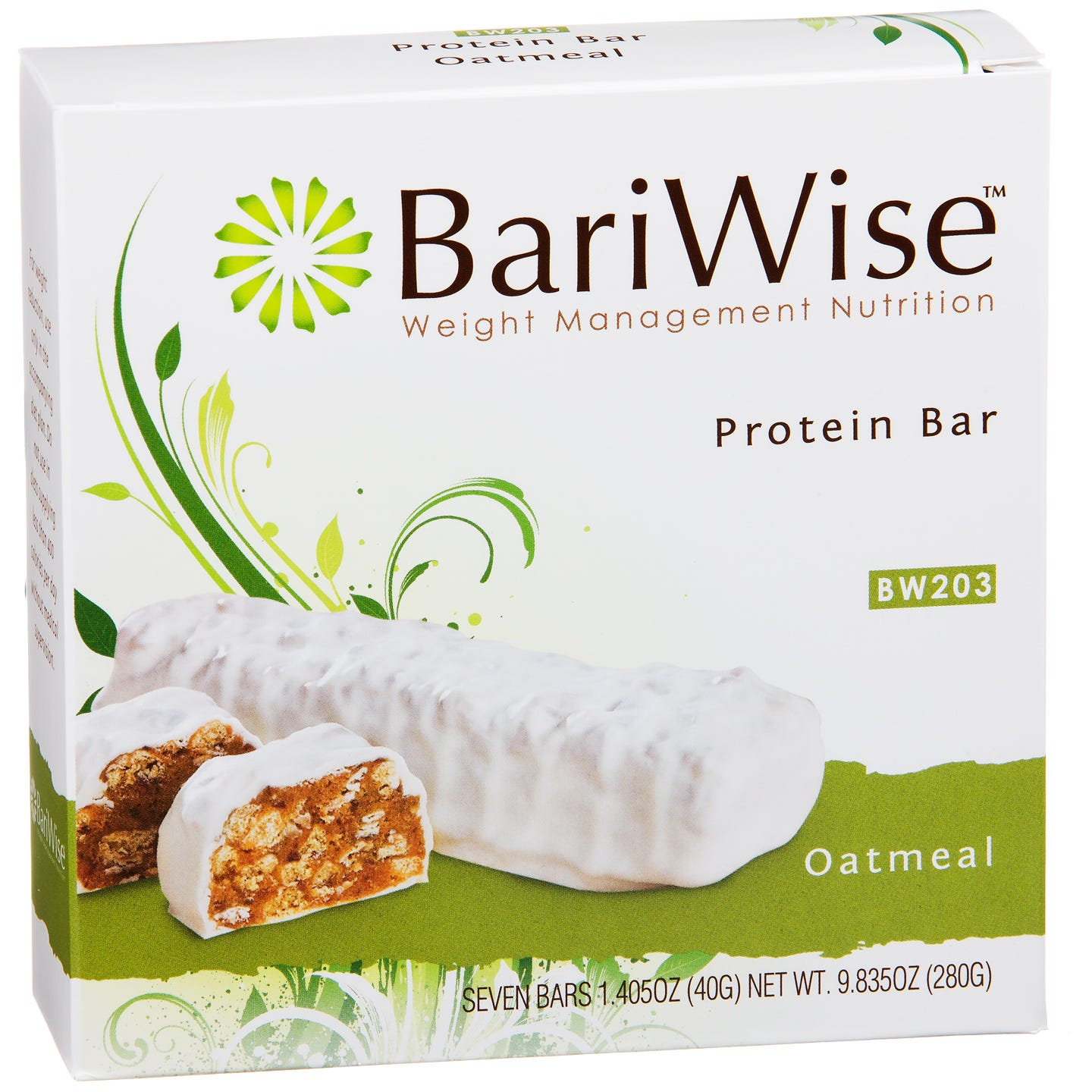 Protein Diet Bar Oatmeal (7 ct) - BariWise - Rapid Diet Weight Loss Products Shop