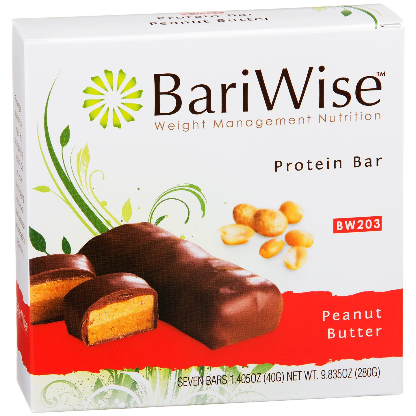Protein Diet Bar Peanut Butter (7 ct) - BariWise - Rapid Diet Weight Loss Products Shop