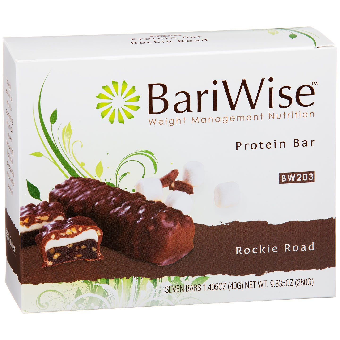 Protein Diet Bar Rockie Road (7 ct) - BariWise - Rapid Diet Weight Loss Products Shop