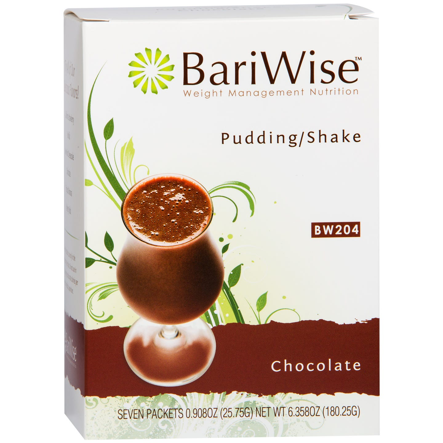 Protein Diet Pudding/Shake Chocolate (7 ct) - BariWise - Rapid Diet Weight Loss Products Shop
