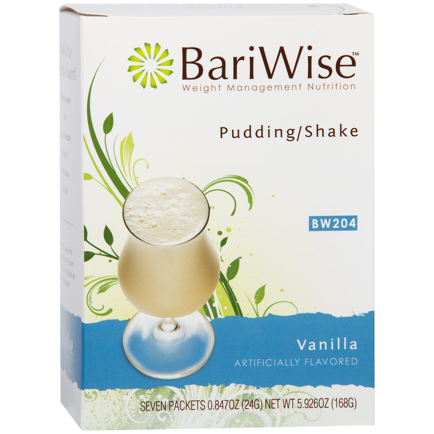 Protein Diet Pudding/Shake Vanilla (7 ct) - BariWise - Rapid Diet Weight Loss Products Shop