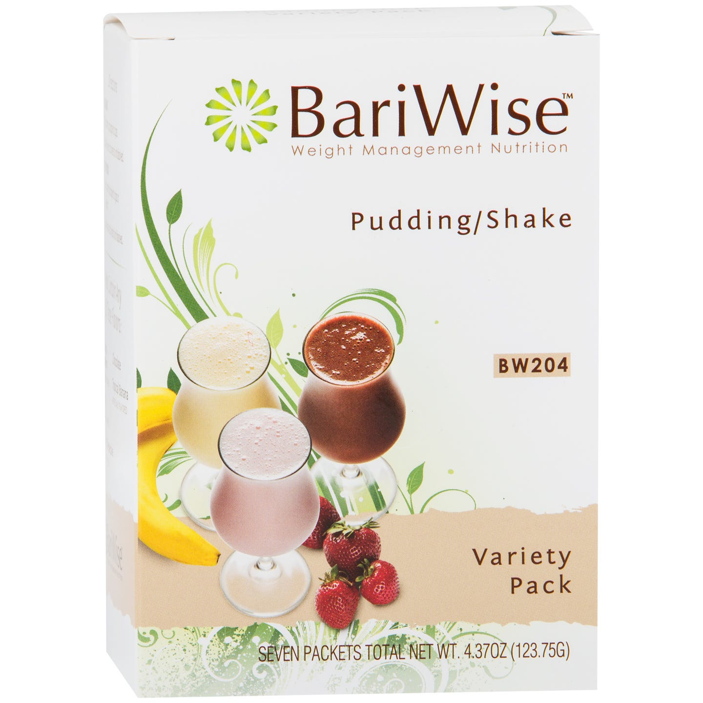 Protein Diet Pudding/Shake Variety Pack (7 Ct) - BariWise