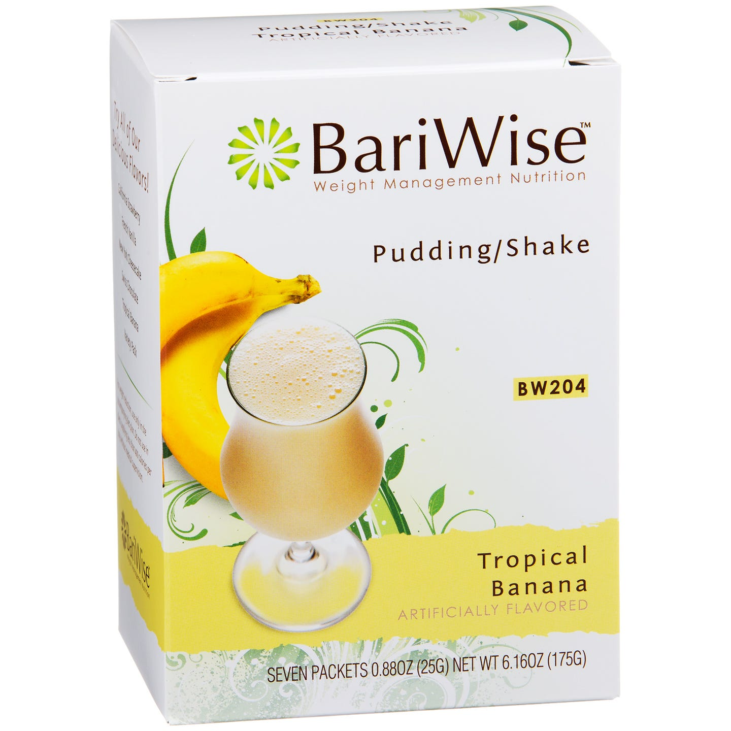 BariWise Protein Diet Pudding/Shake Mix - Banana