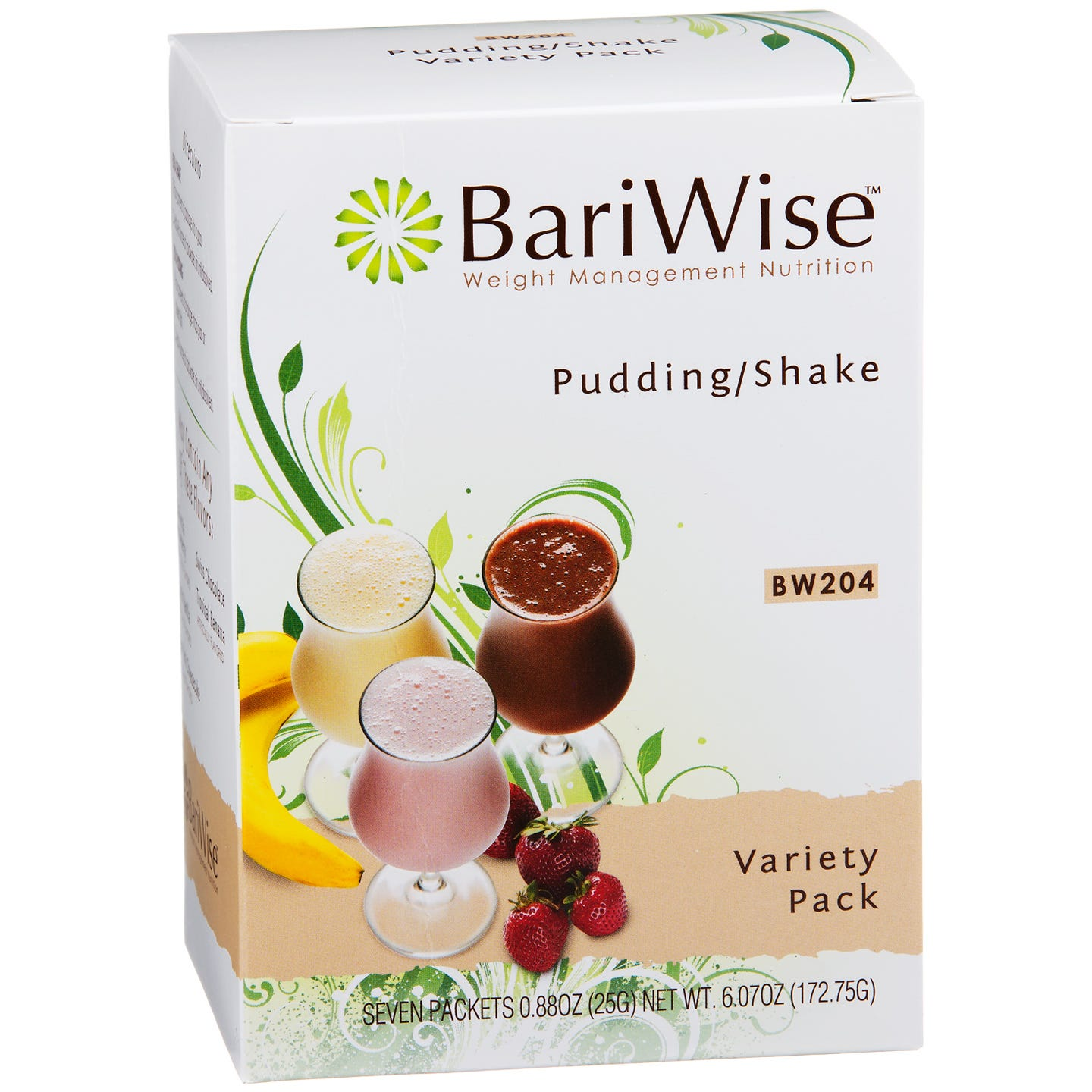 BariWise Protein Diet Pudding/Shake Mix - Variety Pack