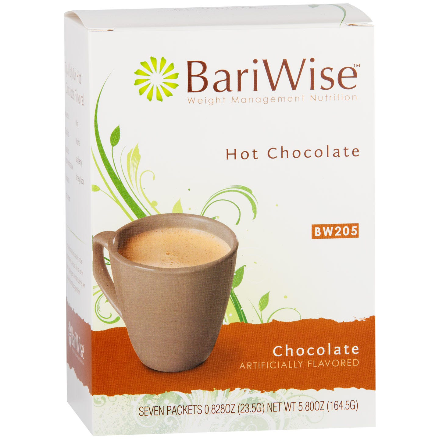 Protein Diet Hot Chocolate Chocolate (7 ct) - BariWise - Rapid Diet Weight Loss Products Shop