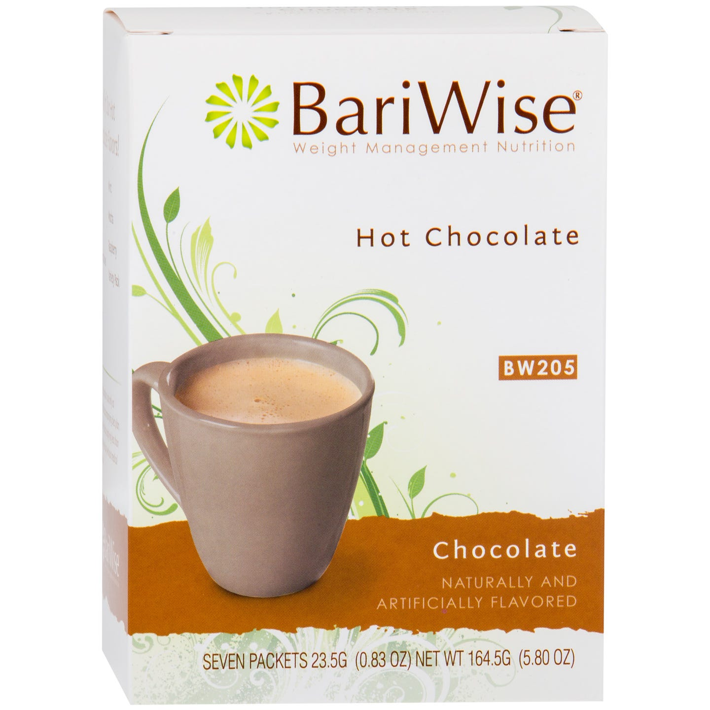 Protein Diet Hot Chocolate Chocolate (7 Ct) - BariWise