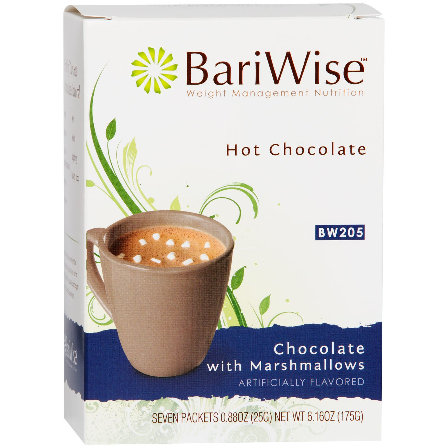 Protein Diet Hot Chocolate Chocolate & Marshmallows (7 ct) - BariWise - Rapid Diet Weight Loss Products Shop